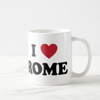 I Heart Rome Italy Mugs