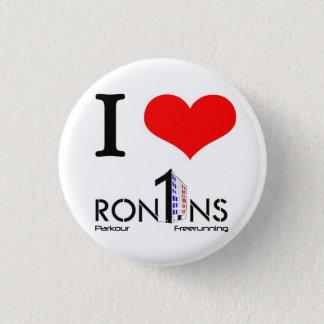 I heart ron1ns 3 cm round badge