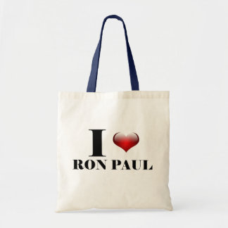I heart Ron Paul Budget Tote Bag