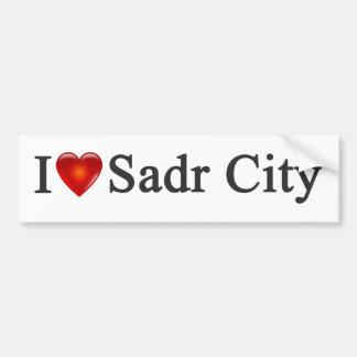"""I Heart Sadr City"" Bumper Sticker"