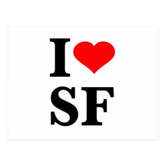 I Heart San Francisco Postcard