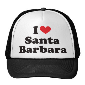 I Heart Santa Barbara Cap