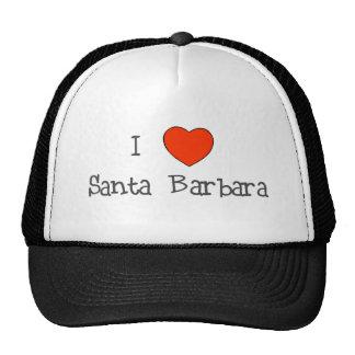I Heart Santa Barbara Mesh Hat