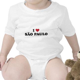 I Heart Sao Paulo Brazil Baby Creeper