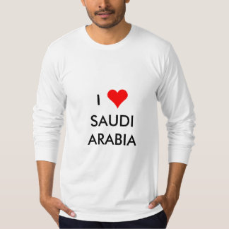 i heart saudi arabia T-Shirt