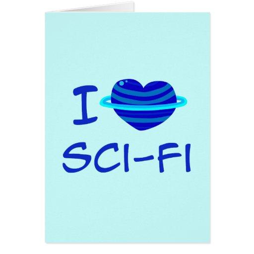 I Heart Sci-Fi Card