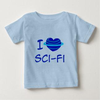 I Heart Sci-Fi Infant T-Shirt