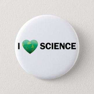 I Heart Science Button