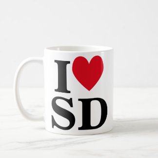 I Heart SD Coffee Mug