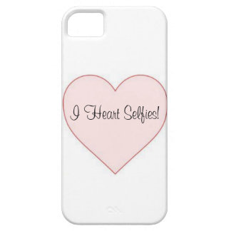 I Heart Selfies! Iphone Case iPhone 5 Cases