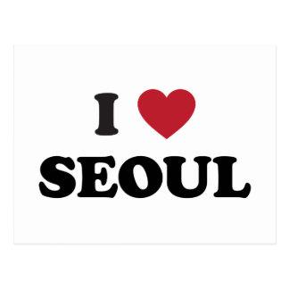 I Heart Seoul South Korea Post Cards
