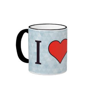 I Heart Sharing Ideas Ringer Mug