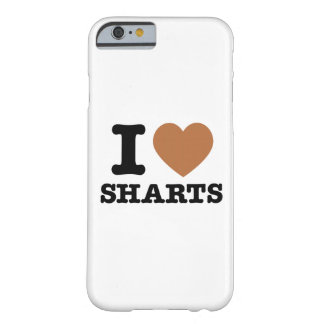 I Heart Sharts Funny Icon Graphic iPhone 6 Case Barely There iPhone 6 Case