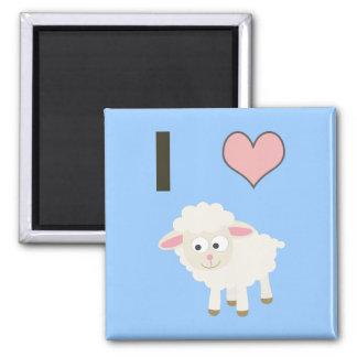 I heart Sheep Magnets