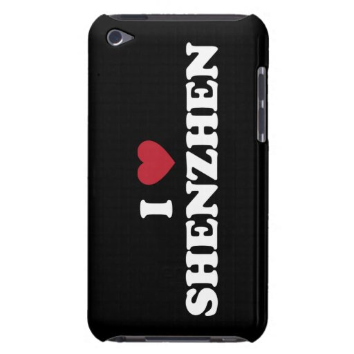 I Heart Shenzhen China Barely There iPod Case