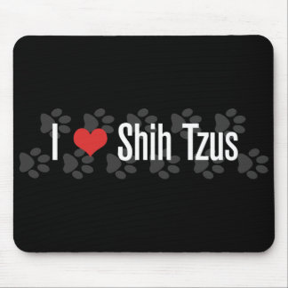 I (heart) Shih Tzus Mouse Pad
