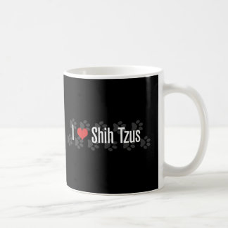 I (heart) Shih Tzus Coffee Mugs