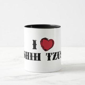 I (heart) Shih Tzus mug