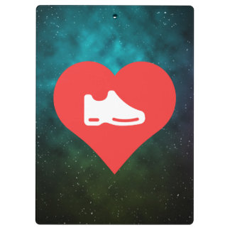 I Heart shoes Icon Clipboards