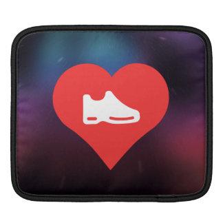 I Heart shoes Icon iPad Sleeve