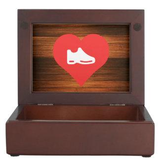 I Heart shoes Icon Memory Boxes