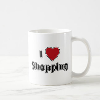 I Heart Shopping Mug