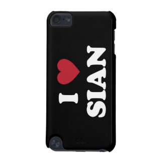 I Heart Sian China iPod Touch 5G Cases