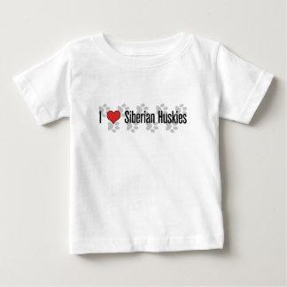 I (heart) Siberian Huskies Baby T-Shirt