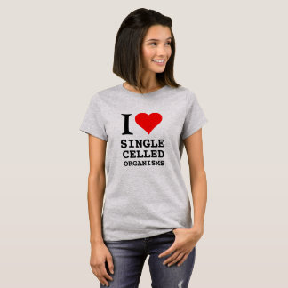 I heart single celled organisms. T-Shirt