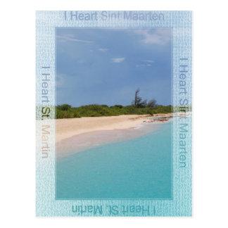 I Heart Sint Maarten Postcard