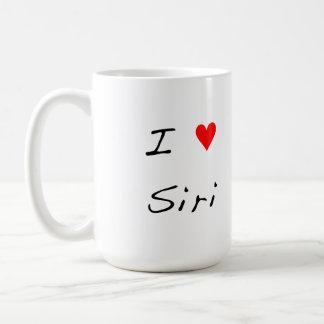 I Heart Siri Coffee Mug