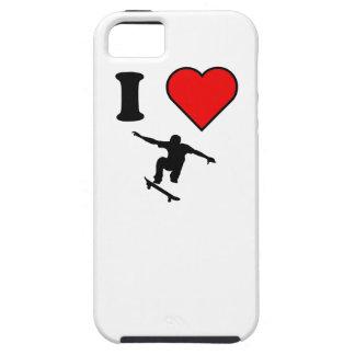 I Heart Skateboarding iPhone 5 Case