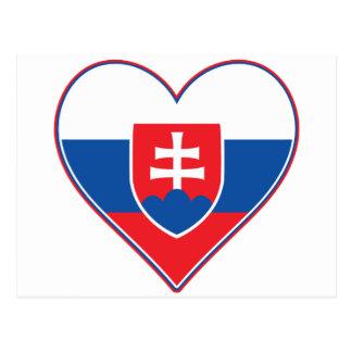 I Heart Slovakia Postcard