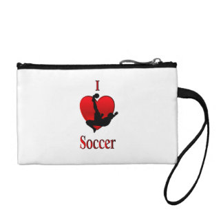 I Heart Soccer Coin Purse