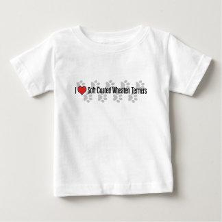 i (heart) Soft Coated Wheaten Terriers Baby T-Shirt