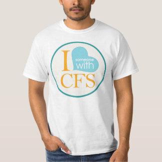 I {heart} Someone with CFS Tshirt