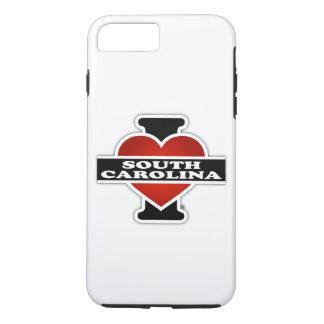 I Heart South Carolina iPhone 7 Plus Case