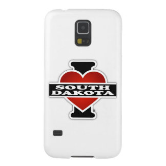 I Heart South Dakota Case For Galaxy S5