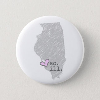 i heart southern illinois 6 cm round badge