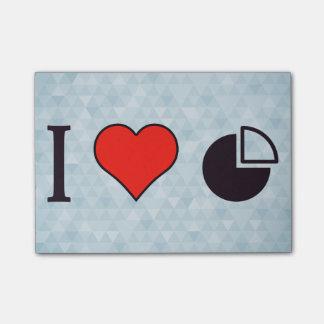 I Heart Statistics Post-it Notes