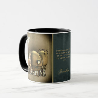 I Heart Steampunk Personalized Mugs