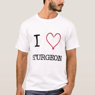 I [Heart] Sturgeon Muscle Tee