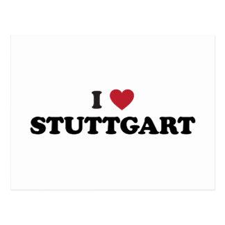 I Heart Stuttgart Germany Postcard