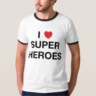 I HEART SUPER HEROES T-Shirt
