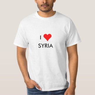 i heart syria T-Shirt