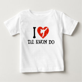 I Heart Tae Kwon Do - Guy 1 Baby T-Shirt