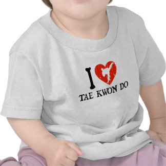 I Heart Tae Kwon Do - Guy 1 T Shirt