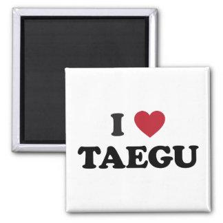 I Heart Taegu South Korea Magnet
