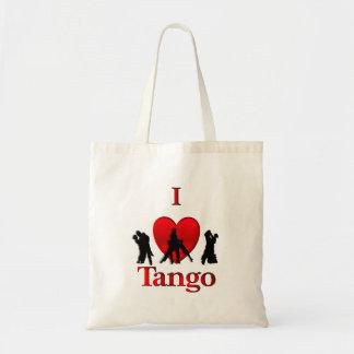 I Heart  Tango Dance Design Tote Bag