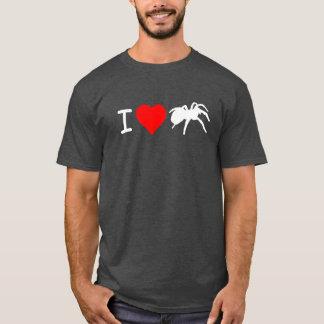 I Heart Tarantulas T-shirt (Grey)